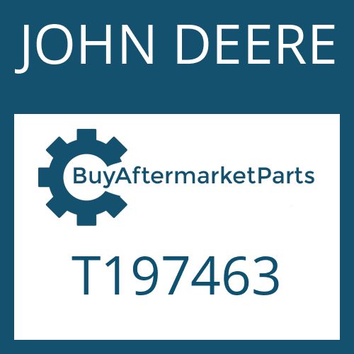 JOHN DEERE T197463 - OIL TUBE