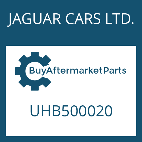 JAGUAR CARS LTD. UHB500020 - POSITION SWITCH