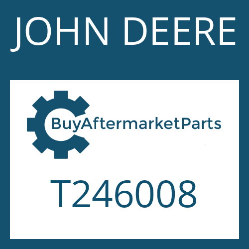 JOHN DEERE T246008 - RETAINING RING