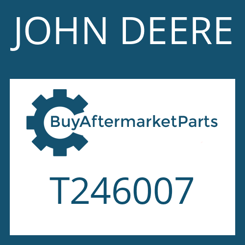 JOHN DEERE T246007 - RETAINING RING