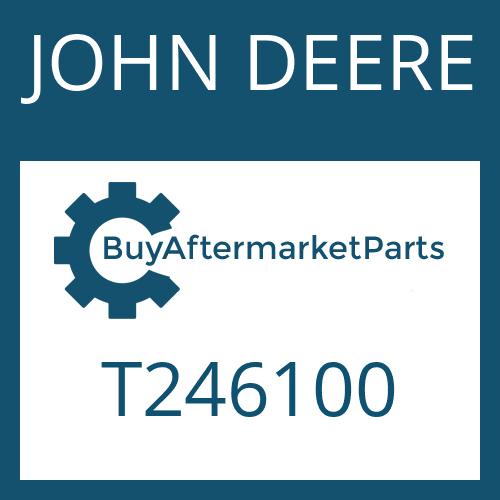 JOHN DEERE T246100 - RETAINING RING