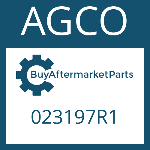 AGCO 023197R1 - LOCK PLATE