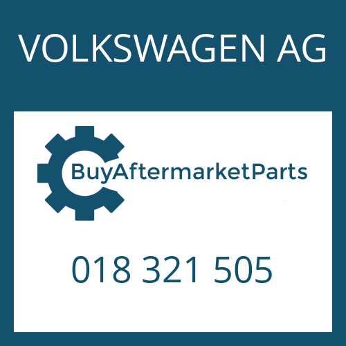 VOLKSWAGEN AG 018 321 505 - CYLINDRICAL PIN