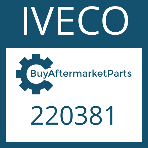 IVECO 220381 - SEALING RING
