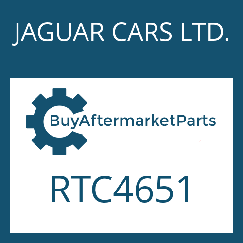 JAGUAR CARS LTD. RTC4651 - HEXAGON SCREW