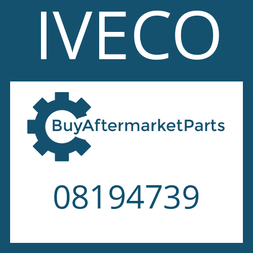 IVECO 08194739 - CAP SCREW