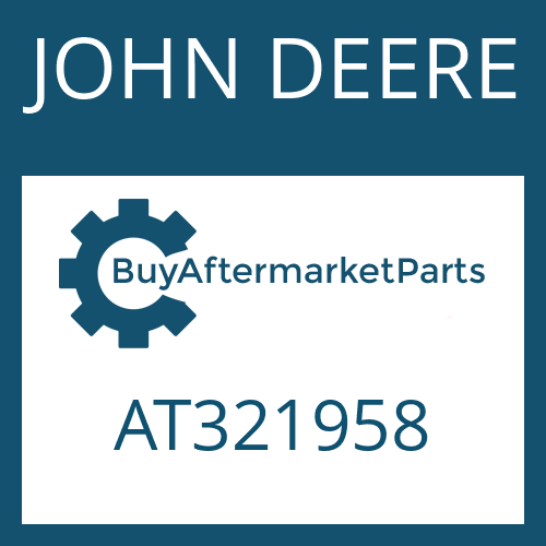 JOHN DEERE AT321958 - SCREW PLUG