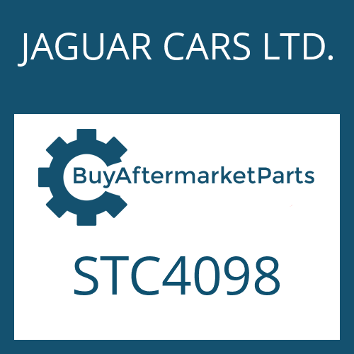 JAGUAR CARS LTD. STC4098 - SCREW PLUG