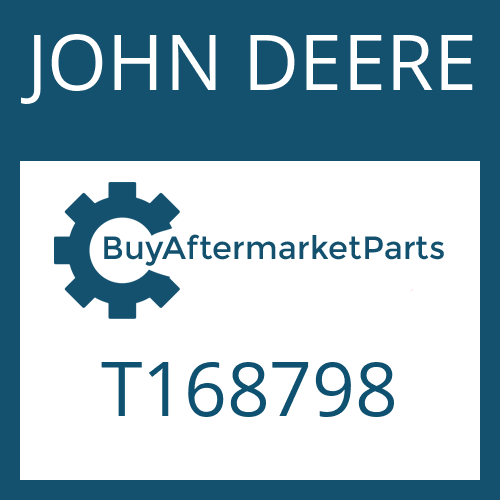 JOHN DEERE T168798 - SCREW PLUG