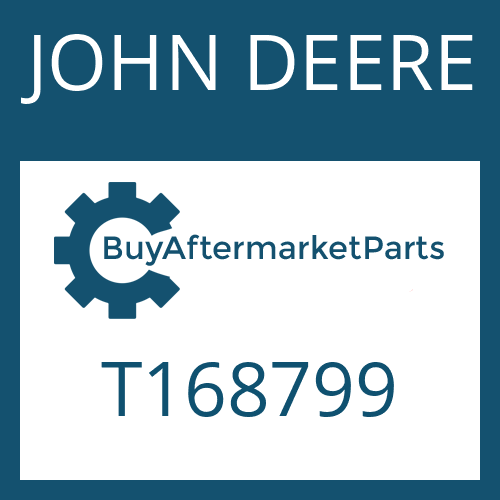 JOHN DEERE T168799 - SCREW PLUG