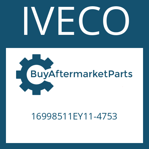 IVECO 16998511EY11-4753 - MAGNETIC PLUG
