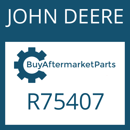 JOHN DEERE R75407 - WASHER