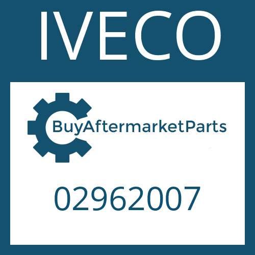 IVECO 02962007 - SPACER RING