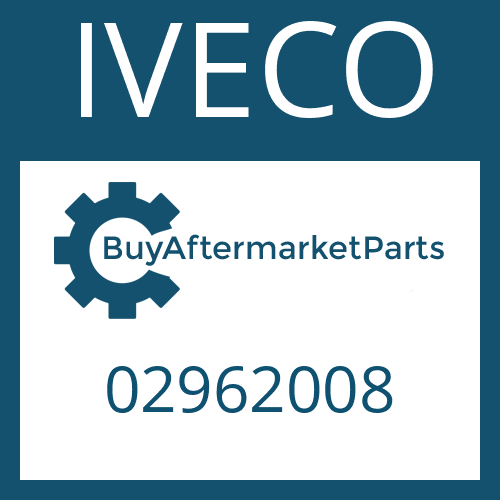 IVECO 02962008 - SPACER RING