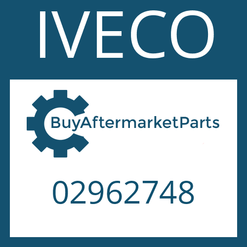 IVECO 02962748 - WASHER