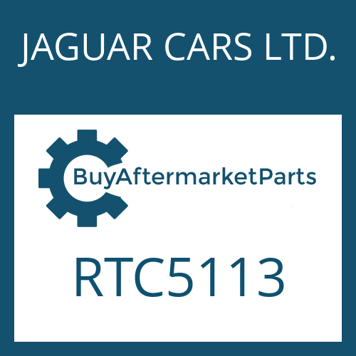 JAGUAR CARS LTD. RTC5113 - WASHER