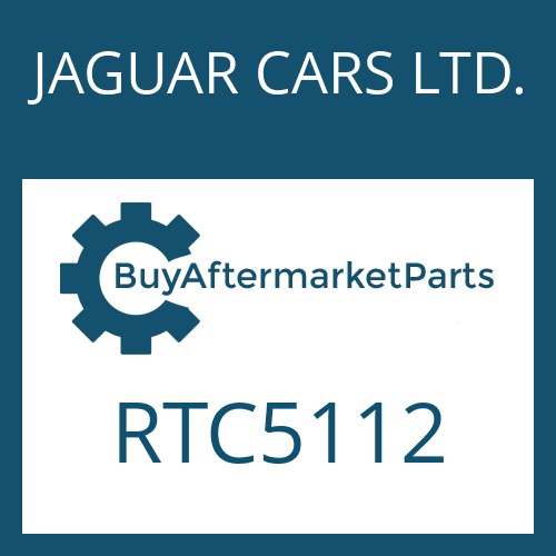 JAGUAR CARS LTD. RTC5112 - WASHER
