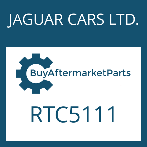 JAGUAR CARS LTD. RTC5111 - WASHER