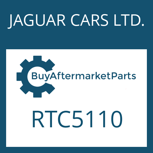 JAGUAR CARS LTD. RTC5110 - WASHER