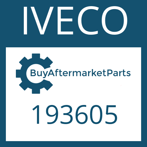 IVECO 193605 - WASHER