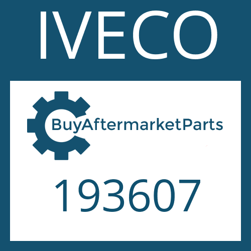 IVECO 193607 - WASHER