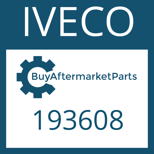 IVECO 193608 - WASHER
