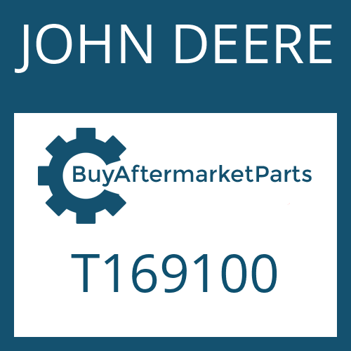 JOHN DEERE T169100 - WASHER