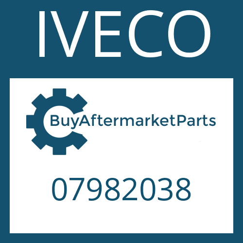 IVECO 07982038 - WASHER