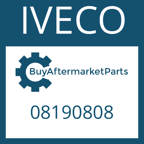 IVECO 08190808 - WASHER