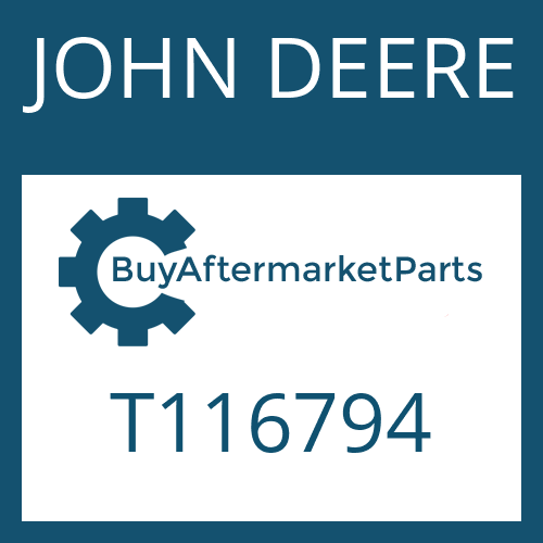 JOHN DEERE T116794 - WASHER