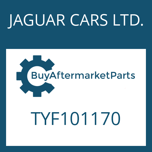 JAGUAR CARS LTD. TYF101170 - DICHTRING