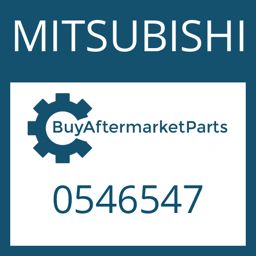 MITSUBISHI 0546547 - THRUST WASHER