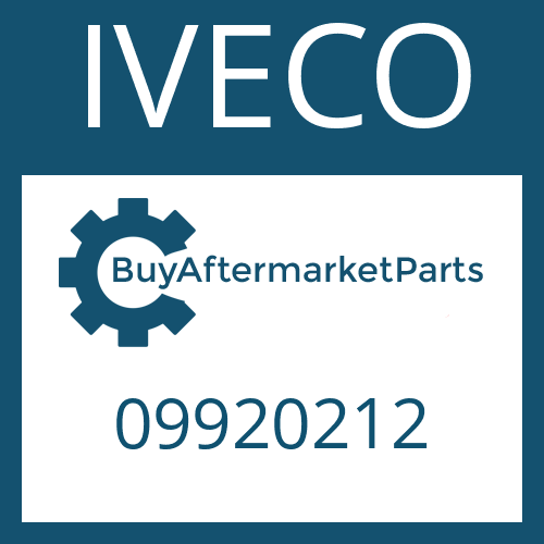 IVECO 09920212 - RETAINING RING