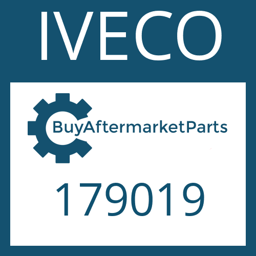 IVECO 179019 - SHAFT SEAL