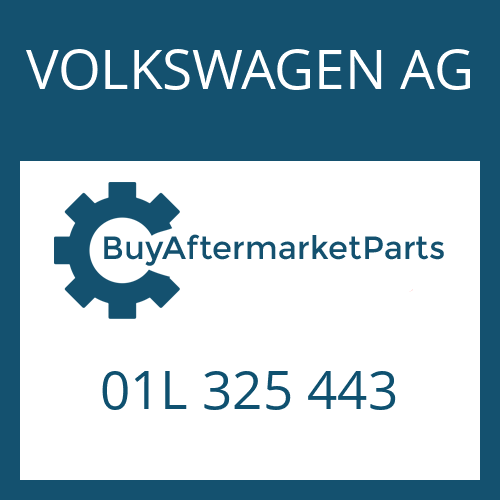 VOLKSWAGEN AG 01L 325 443 - ROUND SEALING RING