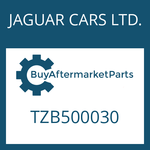 JAGUAR CARS LTD. TZB500030 - SHAFT SEAL