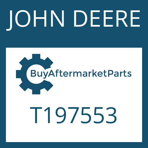JOHN DEERE T197553 - BALL BEARING