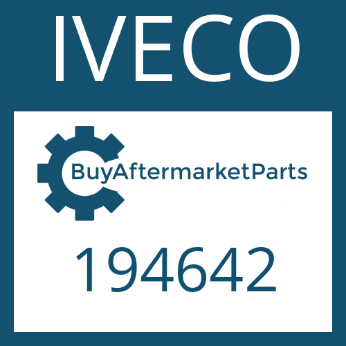 IVECO 194642 - HEXAGON SCREW