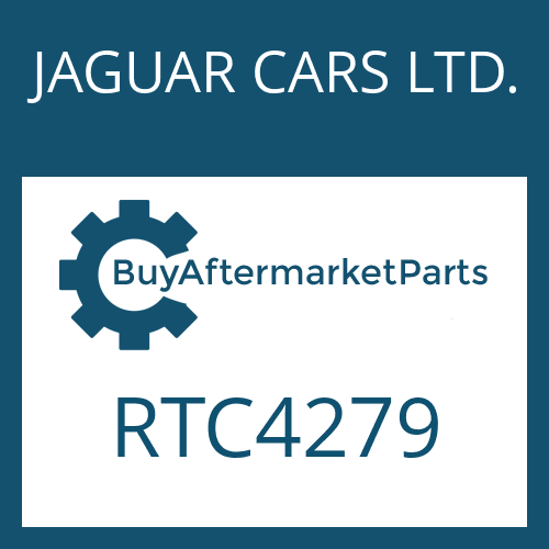JAGUAR CARS LTD. RTC4279 - HEXALOBULAR DRIVING SCREW