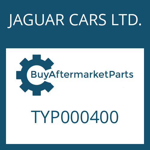 JAGUAR CARS LTD. TYP000400 - TORX SCREW