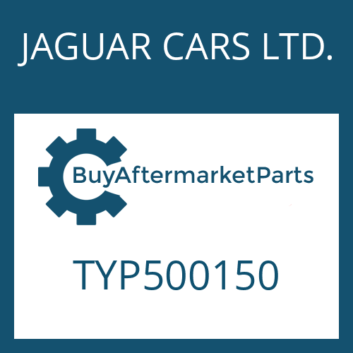 JAGUAR CARS LTD. TYP500150 - HEXALOBULAR DRIVING SCREW