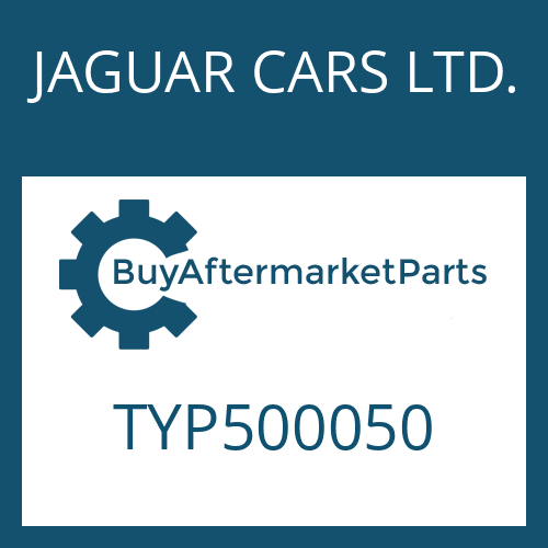JAGUAR CARS LTD. TYP500050 - TORX SCREW