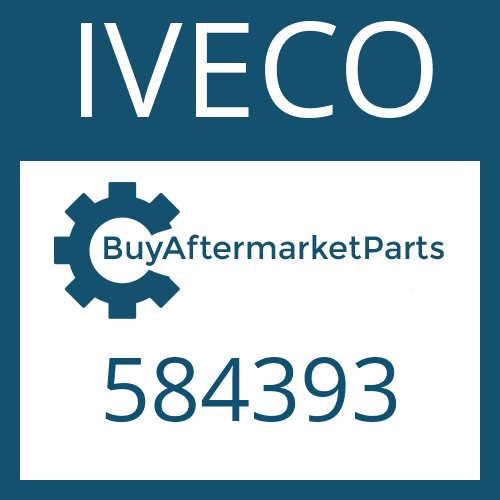 IVECO 584393 - SLOTTED NUT