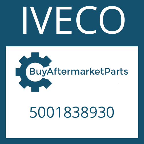 IVECO 5001838930 - RING PIECE