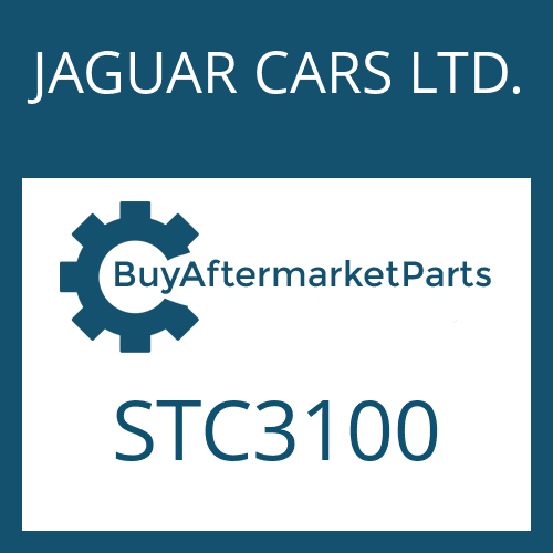 JAGUAR CARS LTD. STC3100 - SHAFT SEAL