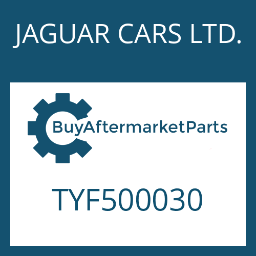 JAGUAR CARS LTD. TYF500030 - USITRING