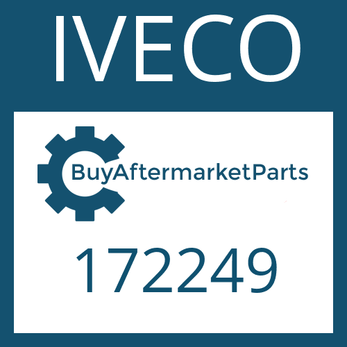 IVECO 172249 - TAPERED ROLLER BEARING