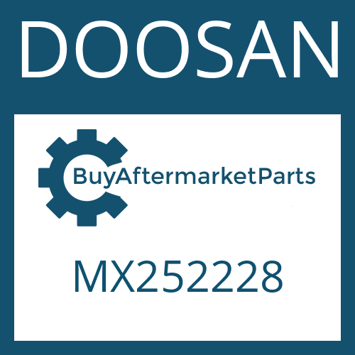 DOOSAN MX252228 - HOSE PIPE