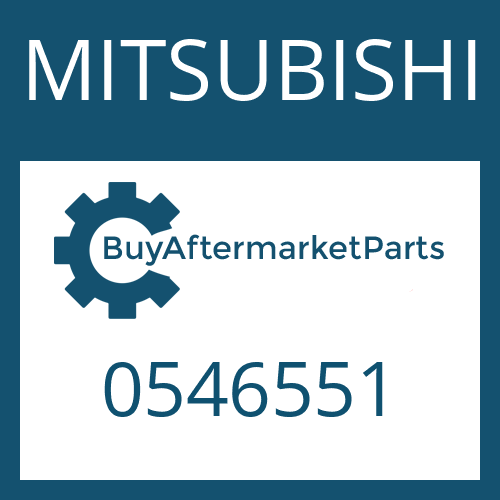 MITSUBISHI 0546551 - THRUST WASHER
