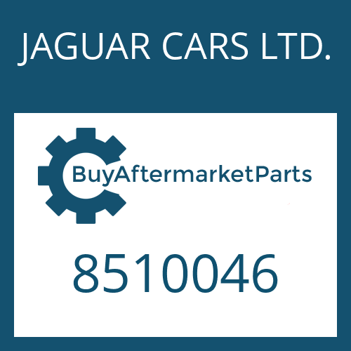 JAGUAR CARS LTD. 8510046 - OIL PAN